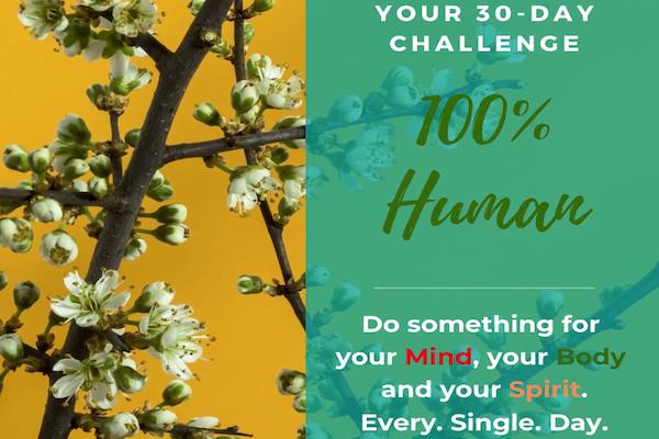 100% Human 30 day challenge